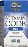 Garden of Life Vitamin Code Men Multivitamin 240 кап