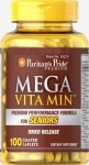 Mega Vita Min Multivitamin for Seniors Timed Release
