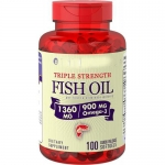 Piping Rock Triple Strength Omega-3 Fish Oil