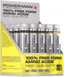 PowerMan 100% Free Amino Acids-20ампул
