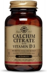 Solgar Calcium Citrate with Vitamin D3