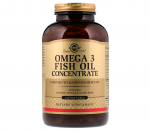 Solgar  Omega-3 Fish Oil Concentrate 240 кап