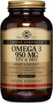 Solgar  Triple Strength Omega-3 950 mg Softgels