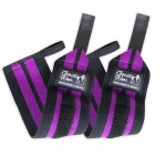 Кистевые бинты Gorilla Women's Wrist Wraps Black/Purple