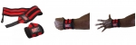 Кистевые бинты Gorilla Wear Wrist Wraps PRO Black/Red