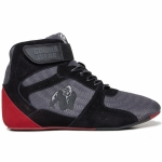 Кроссовки Gorilla Wear Perry High Tops Pro Gray/Black/Red